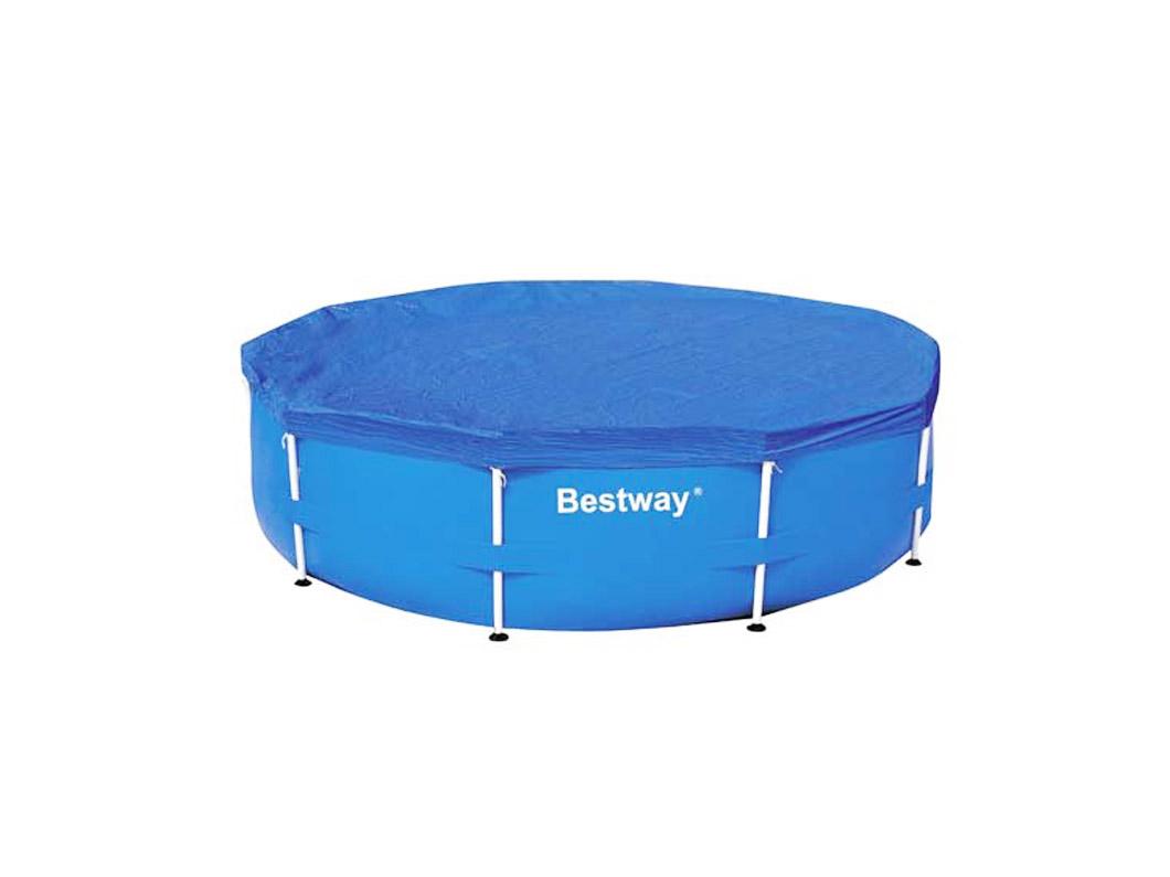 Cubre piscina hexagonal 366 cm bestway importadora for Cubre piscina bestway
